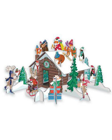 Roger la Borde Pop and Slot Advent Calendar - Chalet Snow