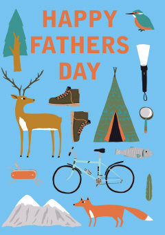 Card - Roger la Borde Happy Fathers Day