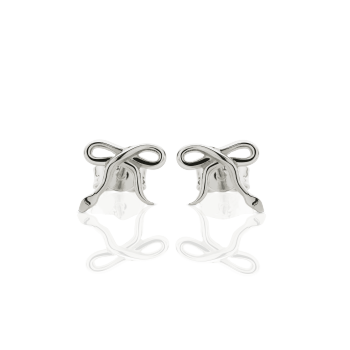 Meadowlark stud earrings - Serpent bows