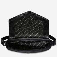 Status Anxiety Bag - Transitory - Black Bubble