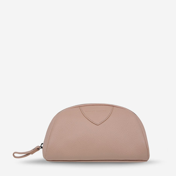 Status Anxiety Adrift Cosmetics Bag - Dusty Pink