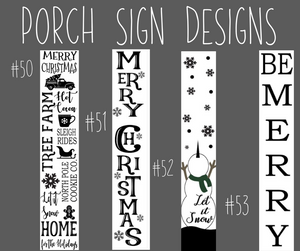 Porch Sign Kit