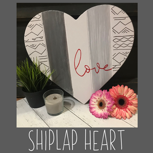 Shiplap Heart Kit