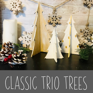 Classic Trio of Trees Kit