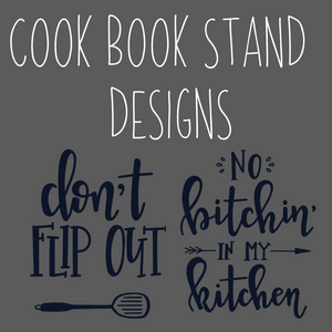 Cook Book/I Pad Stand Kit