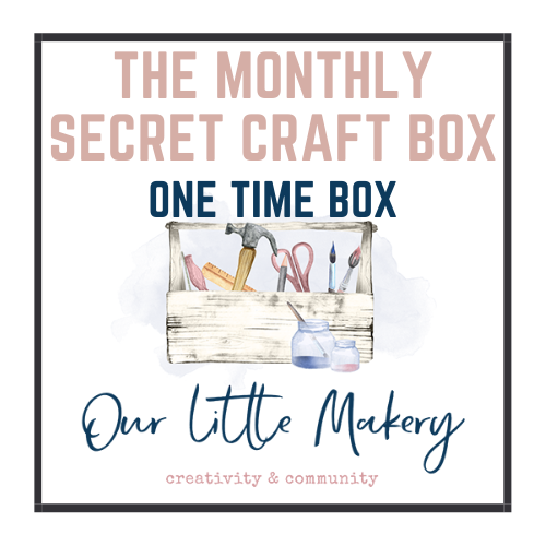 Ready Made Kit - Secret Craft Box Project - January