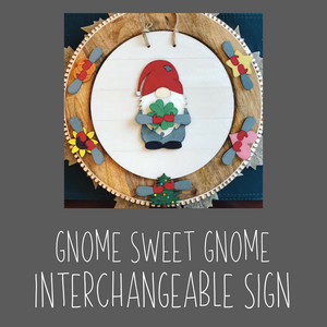 Gnome Interchangeable Sign