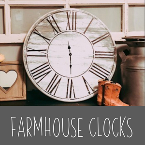 Farmhouse Clock Kit