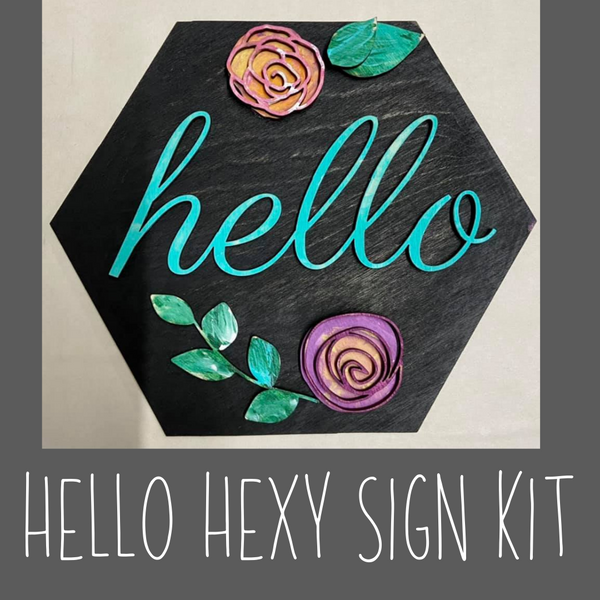 Hello Hexy Sign Kit