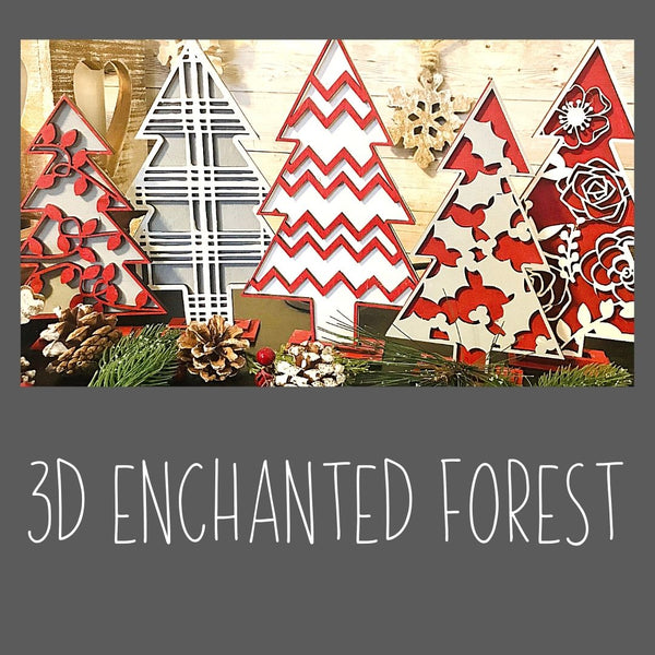 3D Enchanted Forest Kit