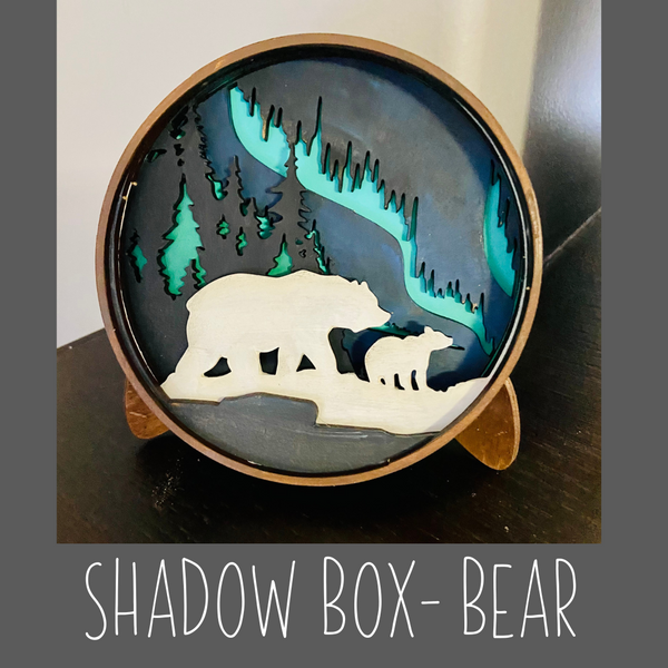 Shadow box- Bear Kit