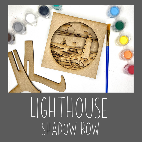 Shadow box- LightHouse