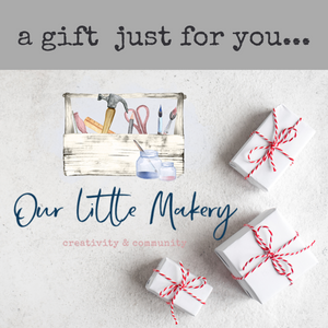 A Our Little Makery Gift Card