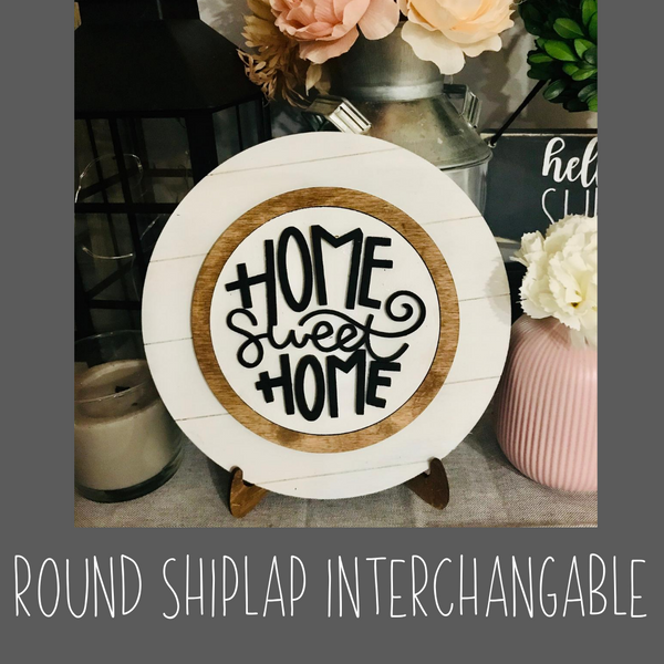 Round Shiplap Interchangeable