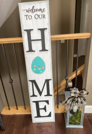 3D Interchangeable Porch Sign