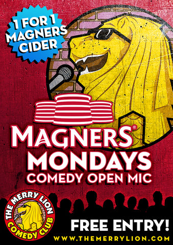 Every MONDAY - Free Stand Up Comedy Open Mic Night