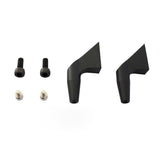 H0183BM-S - Aluminum Main Blade Grip Arm (New Design) Black Matte - Goblin 700/770-Mad 4 Heli