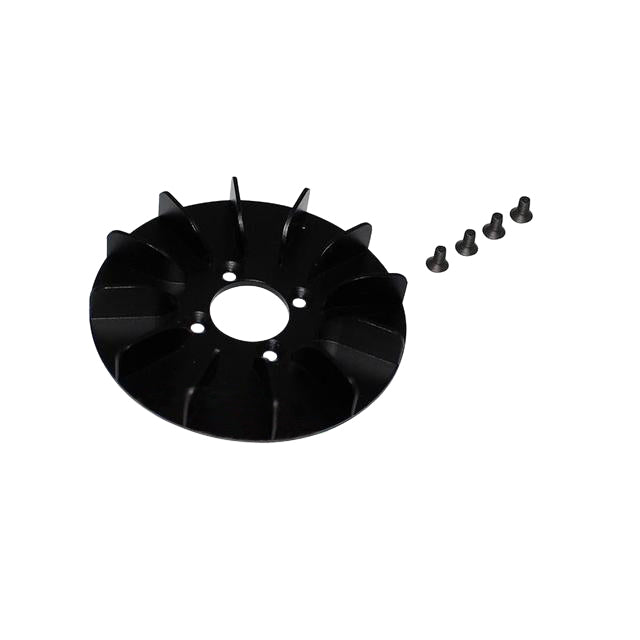H0671BM-S - ALUMINUM ENGINE FAN - GOBLIN BLACK NITRO