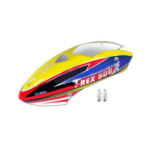 500X Painted Canopy HC5125-Mad 4 Heli