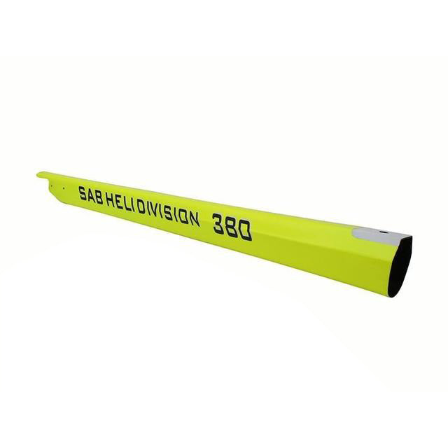 H0546-S - CARBON FIBER TAIL BOOM YELLOW - GOBLIN 380
