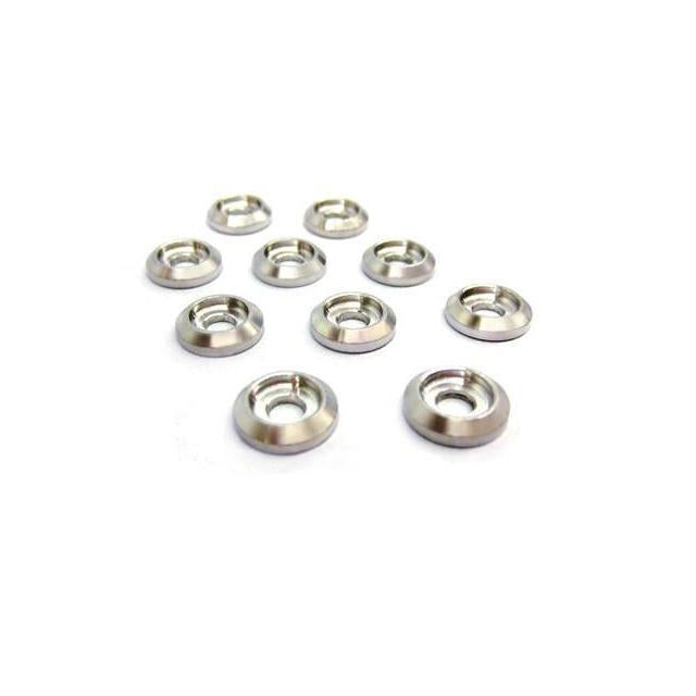 Goblin 500/630/700/770 Aluminum Finishing Washers (10pcs) H0007-S-Mad 4 Heli