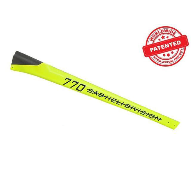 Carbon Fiber Tail Boom Yellow - Goblin 770 Competition H0380-S
