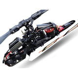 SG723 - GOBLIN COMET BLACK – RED-Mad 4 Heli