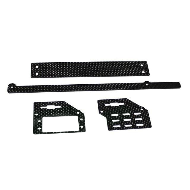 H0690-S - CARBON FIBER SUPPORT SET - GOBLIN BLACK NITRO