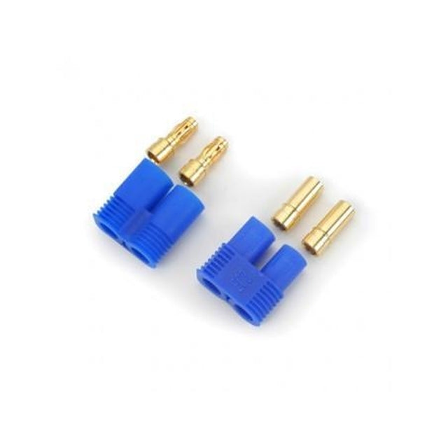 E-Flite Easy Connector 3.5mm (EC3) Male and Female (1 each) (EFLAEC303)-Mad 4 Heli