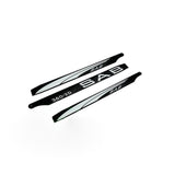 3D SAB Blackline 360mm Main Blades (3 Blade Set) 3BL360-3DW-Mad 4 Heli