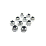 Goblin 500/630/700/770 Metric Hex Locknut Nuts M2,5 H3,5(10pcs) HC200-S-Mad 4 Heli