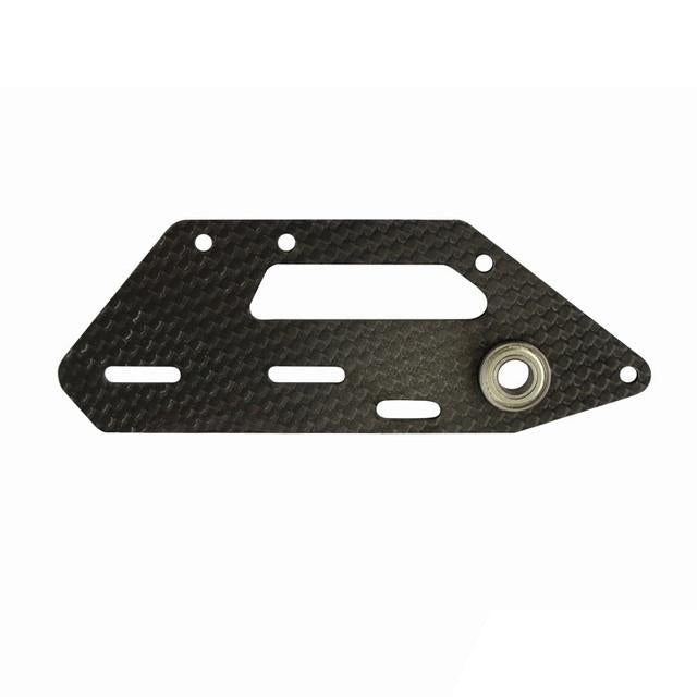H0867-S - CARBON FIBER TAIL SIDE PLATE - GOBLIN THUNDER T-Mad 4 Heli