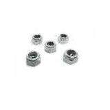 HC218-S Goblin 630/700/770 Metric hex locknut Nuts M5 H4,8 (5pcs)-Mad 4 Heli