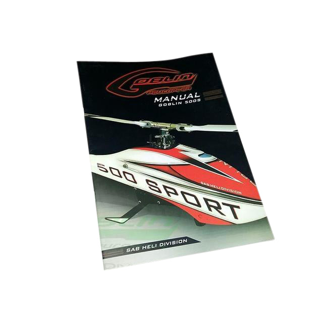 HA918-S - GOBLIN 500 SPORT INSTRUCTION MANUAL