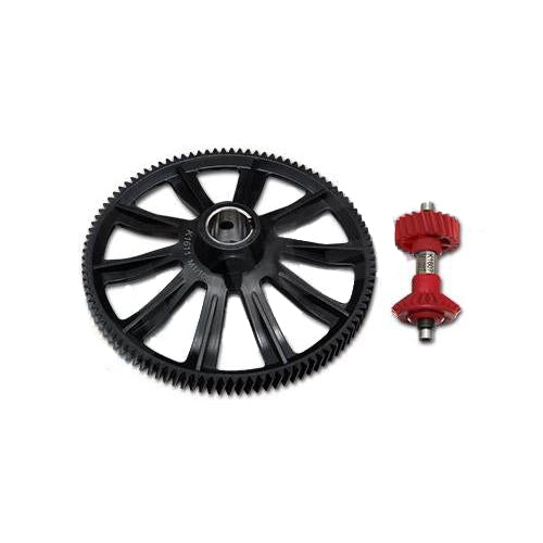 105T M1 Helical Autorotation Tail Drive Gear Set H70G013XX-Mad 4 Heli