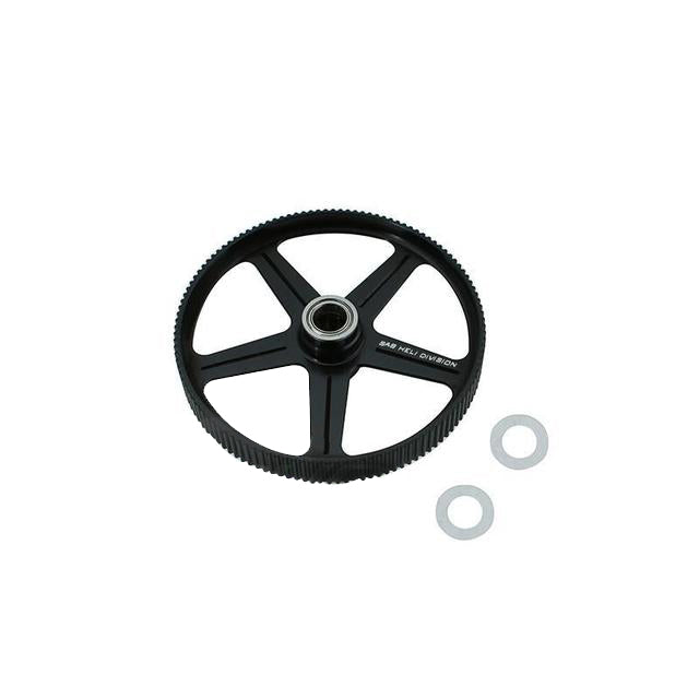 H0571-S - ALUMINUM ONE WAY PULLEY - GOBLIN 380-Mad 4 Heli