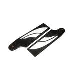 Goblin 500 SAB 80mm Carbon Fiber Tail Blade BW5080-Mad 4 Heli