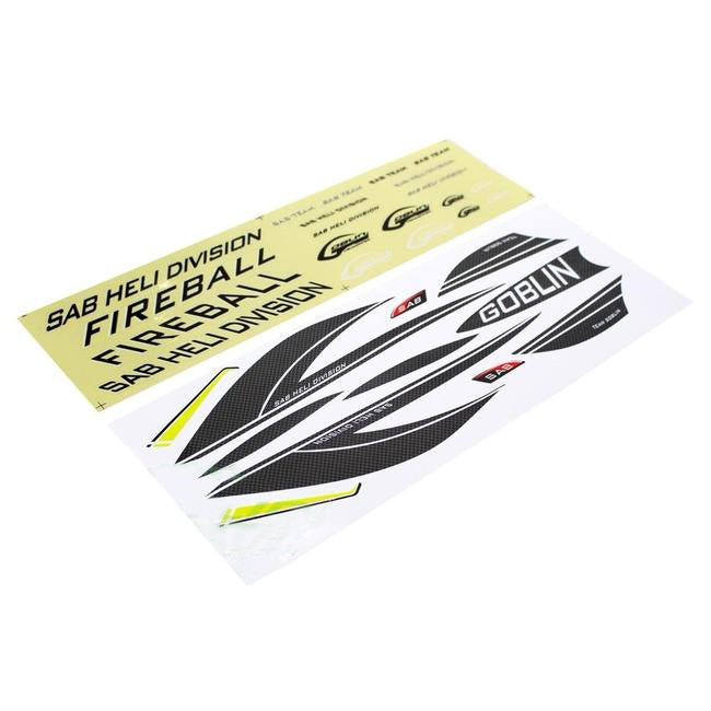 HA069-S - Sticker Fireball Carbon