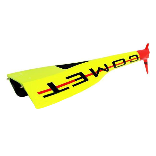 H0919-S - MINI COMET BOOM YELLOW/RED-Mad 4 Heli