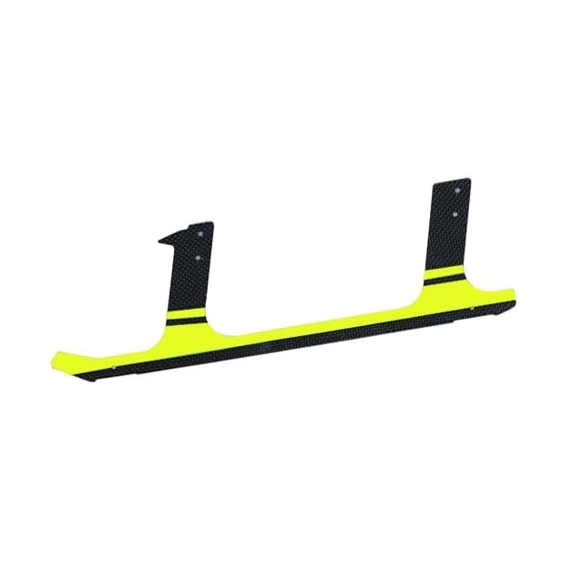 H0105-S Goblin 700 Carbon fiber landing gear Yellow (1pcs)