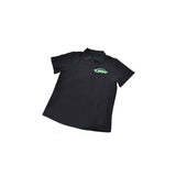 HM027-XL SAB HELI DIVISION Black Polo Shirt - Size XL-Mad 4 Heli