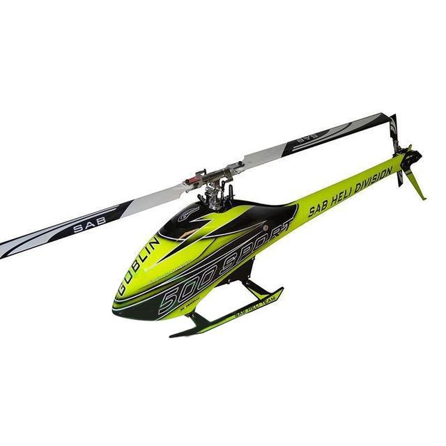 SG512 - SAB GOBLIN 500 SPORT CARBON/YELLOW