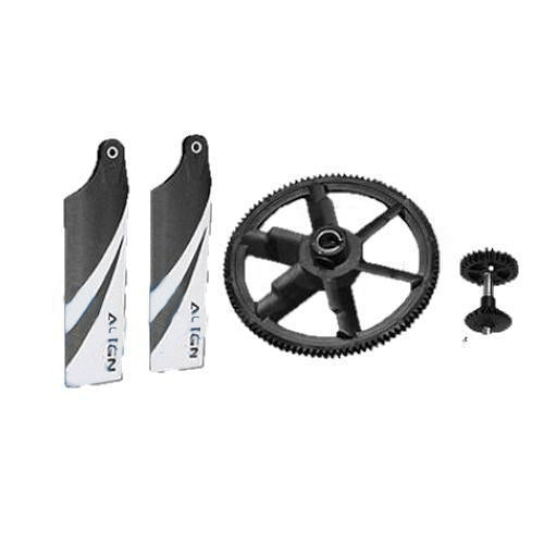 104T 28T Autorotation Tail Drive Upgrade Set H45G004XX