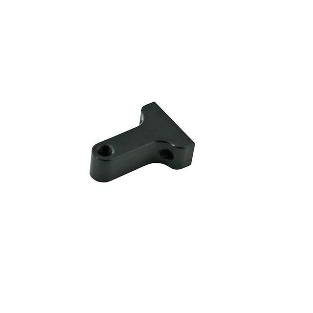 H0058BL-S - ALUMINUM BELLCRANK BASE BLACK EDITION - GOBLIN 630/700/770