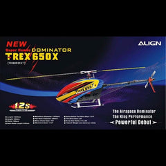 RH65E01XT Align Trex 650X Super Combo. IN STOCK NOW
