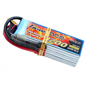 GENS ACE 1200mAh 22.2V 40C 6S LIPO BATTERY PACK