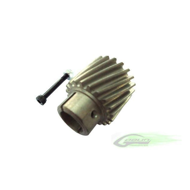 H0156-S Steel Pinion Z19 - Goblin 770/630/700 Competition