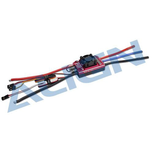 HES10001 RCE-BL100A Brushless ESC-Mad 4 Heli