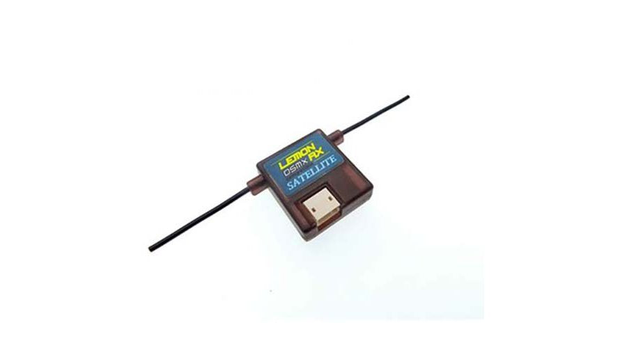 LMN-0037 Lemon Rx Satellite DSMP Receiver with Diversity Antenna DSMX Compatible