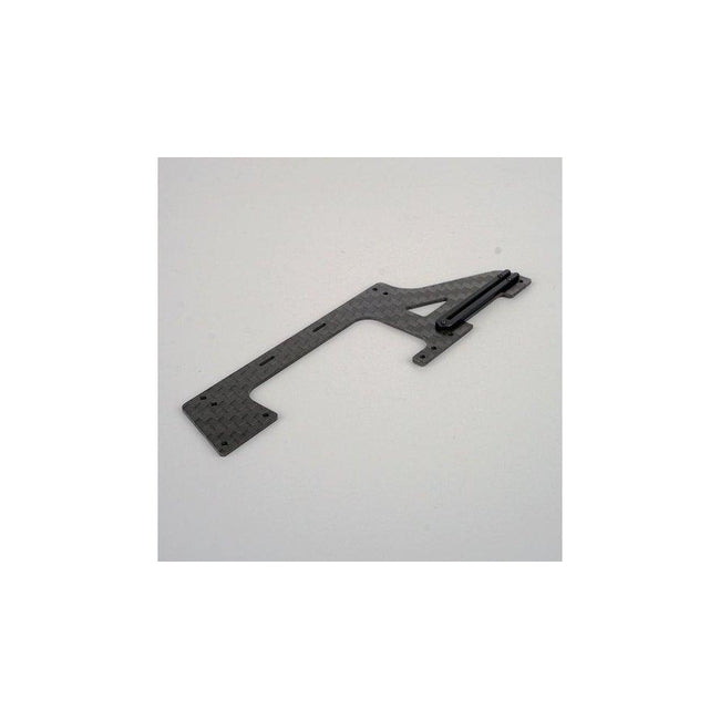 OSHM2022 OMPHOBBY M2 Carbon Fiber Lower Right Side Frame (LR)